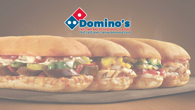 Dominos Pizza   meal delivery   9 Prairie Ave Ste B, Highwood, IL 60040, USA   8474336441 OR +1 847-433-6441