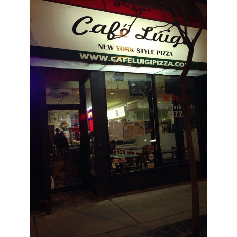 Cafe Luigi Pizza | meal delivery | 2548 N Clark St, Chicago, IL 60614, USA | 7734040200 OR +1 773-404-0200
