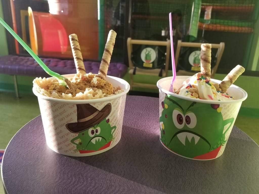Monster Yogurt | restaurant | 9540 Garland Rd, Dallas, TX 75218, USA | 2143216363 OR +1 214-321-6363