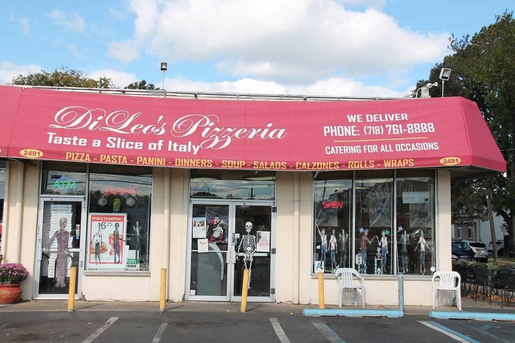 DiLeos Pizzeria | restaurant | 2491 Victory Blvd, Staten Island, NY 10314, USA | 7187618888 OR +1 718-761-8888