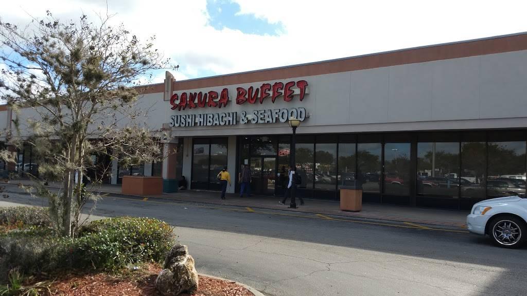 Sakura Buffet | restaurant | 9764 Atlantic Blvd, Jacksonville, FL 32225, USA | 9047215363 OR +1 904-721-5363