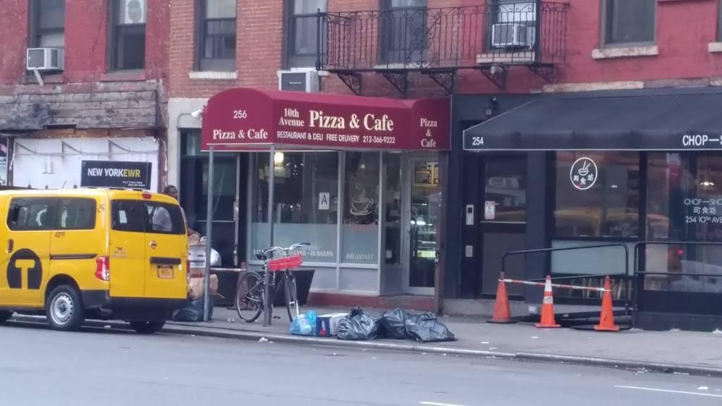10th Avenue Pizza & Cafe   restaurant   256 10th Ave, New York, NY 10001, USA   2123669222 OR +1 212-366-9222