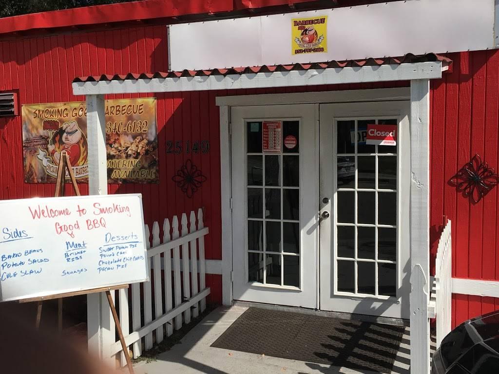 Smoking Good Barbecue Catering | restaurant | 25149 Cortez Blvd, Brooksville, FL 34601, USA | 3527972186 OR +1 352-797-2186