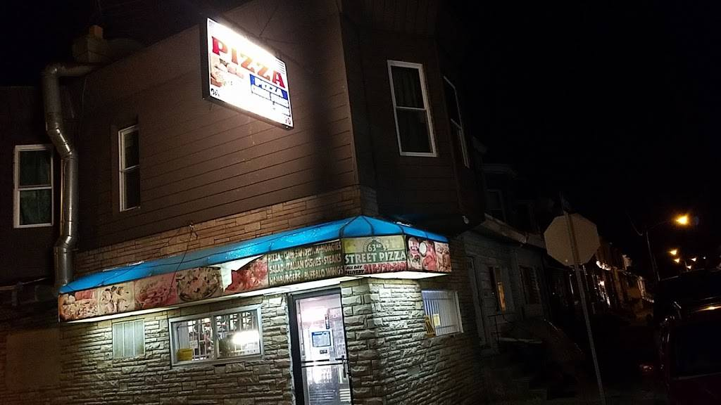 63rd Street Pizza | meal delivery | 6300 Wheeler St, Philadelphia, PA 19142, USA | 2157295090 OR +1 215-729-5090