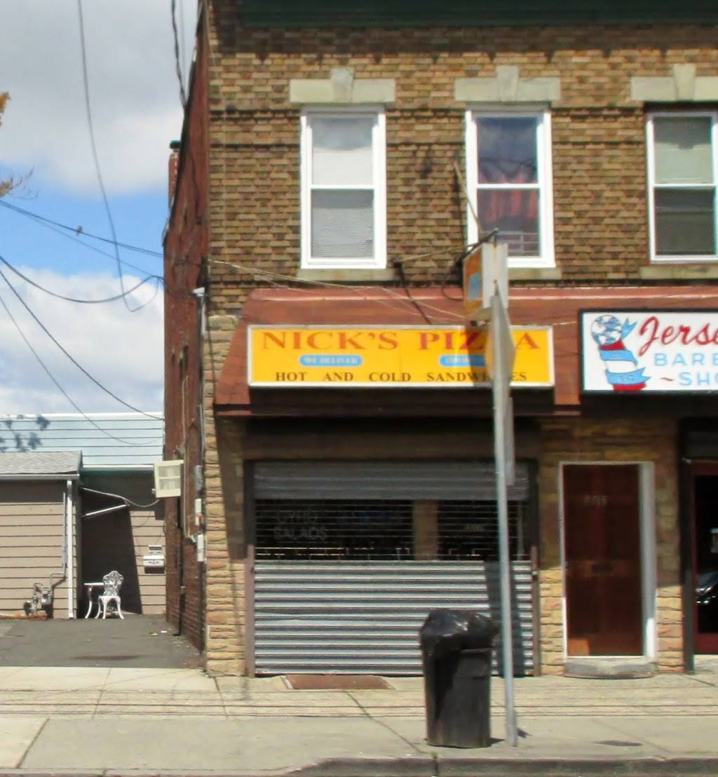 Nicks Pizza | restaurant | 7715 John F. Kennedy Blvd, North Bergen, NJ 07047, USA | 2018613588 OR +1 201-861-3588