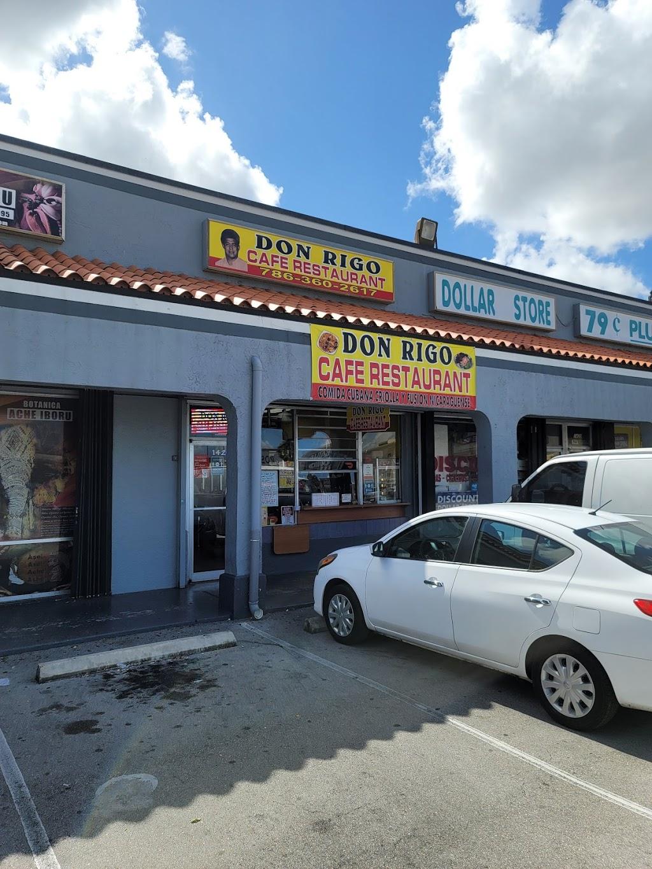 Don Rigo Cafeteria   restaurant   1426 W 49th St, Hialeah, FL 33012, USA   7867550379 OR +1 786-755-0379