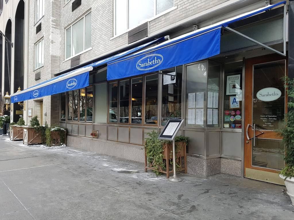 Sarabeths Central Park South | restaurant | 40 Central Park S, New York, NY 10021, USA | 2128265959 OR +1 212-826-5959