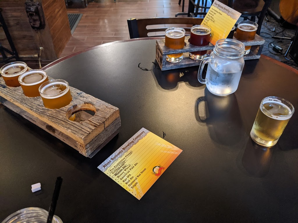River Bottoms Brewing Company | restaurant | 12 W Benton St, Carrollton, MO 64633, USA | 6603226110 OR +1 660-322-6110