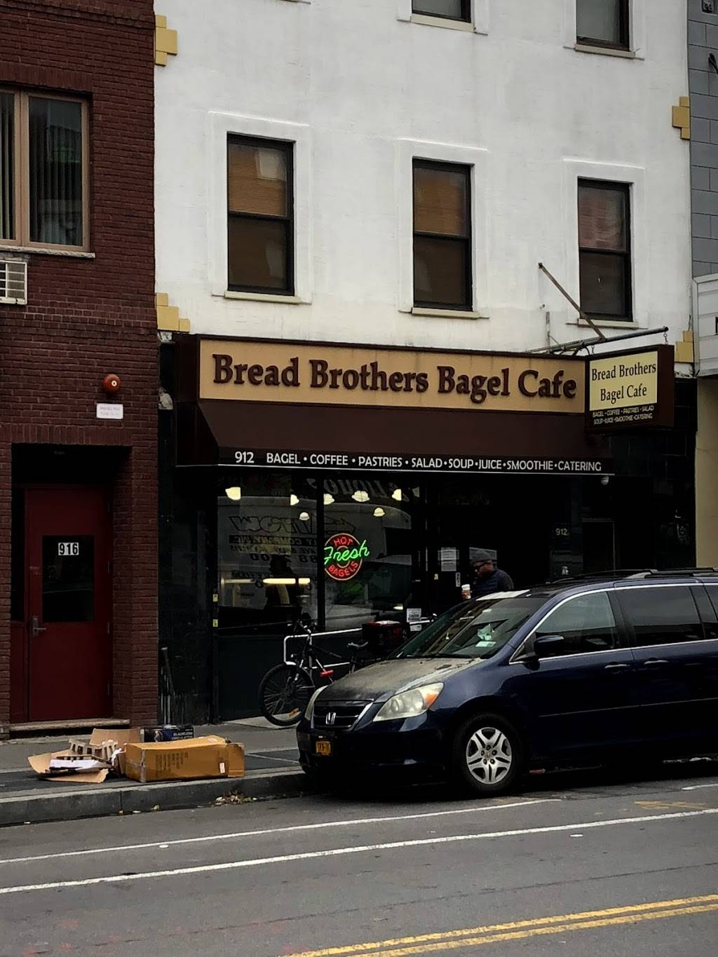 Bread Brothers Bagel Cafe - Greenpoint | restaurant | 912 Manhattan Ave, Brooklyn, NY 11222, USA | 7185763837 OR +1 718-576-3837