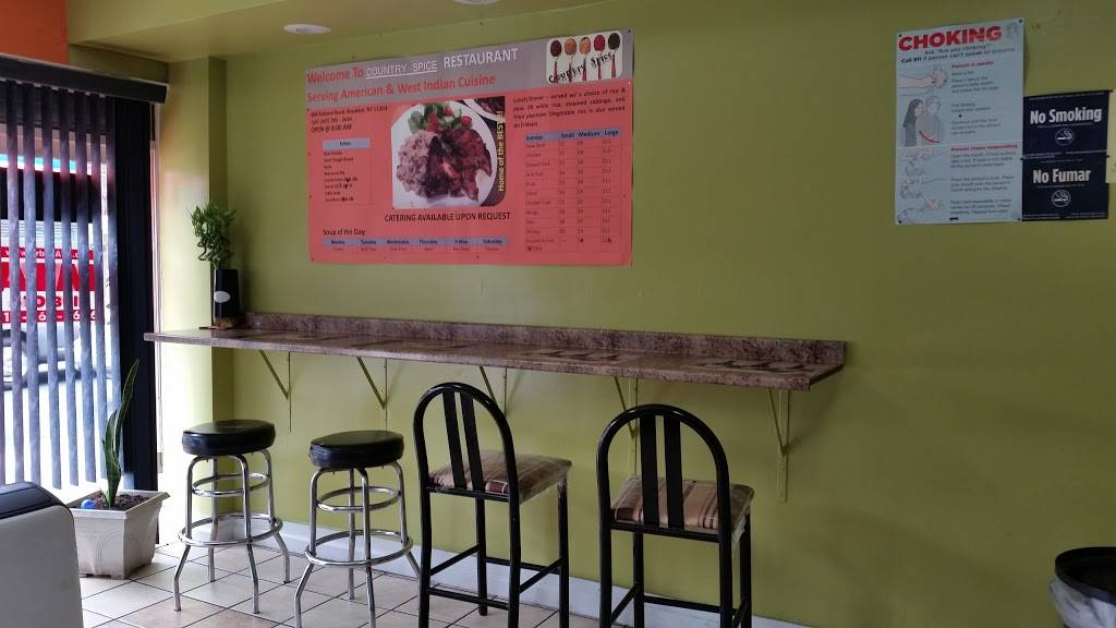 Country Spice   restaurant   884 Rutland Rd, Brooklyn, NY 11203, USA   3477855634 OR +1 347-785-5634