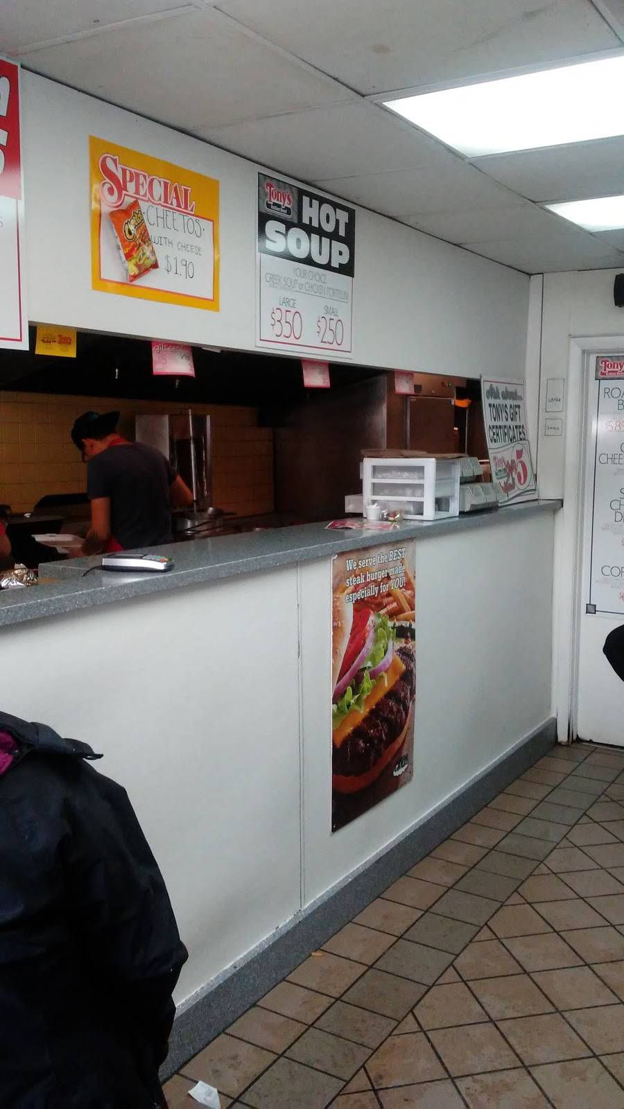 Tonys Italian Beef   restaurant   7007 S Pulaski Rd, Chicago, IL 60629, USA   7732846787 OR +1 773-284-6787