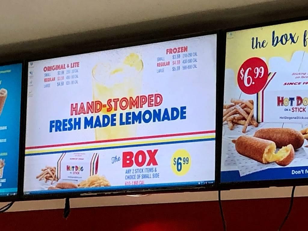 Hot Dog on a Stick | meal takeaway | 121 Los Cerritos Center, Cerritos, CA 90703, USA | 5628600384 OR +1 562-860-0384