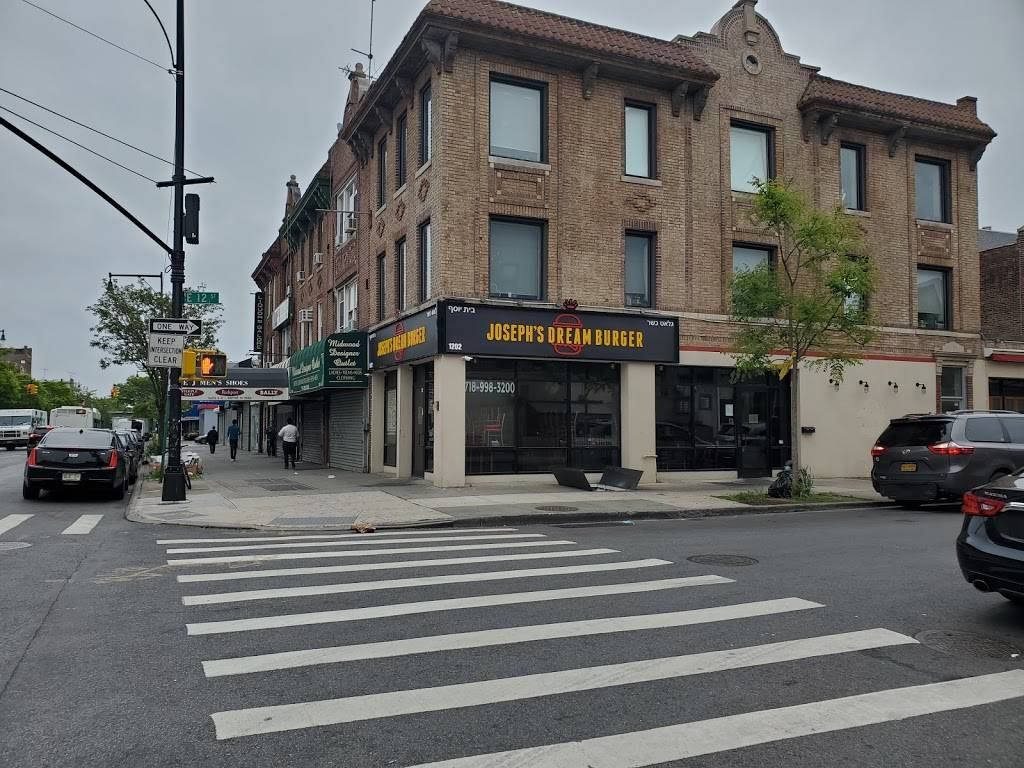 Josephs Dream Burger | restaurant | 1202 Avenue J, Brooklyn, NY 11230, USA | 7189983200 OR +1 718-998-3200