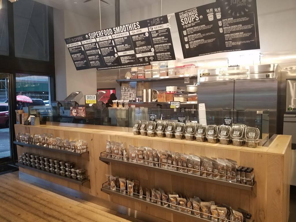 Juice Press | restaurant | 375 Hudson St, New York, NY 10014, USA | 2127770034 OR +1 212-777-0034