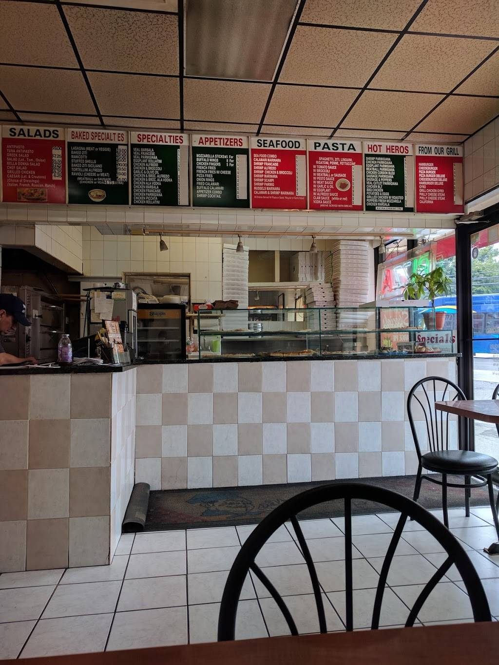 Bella Donna Pizzeria   meal delivery   3358, 6091 54th St, Flushing, NY 11378, USA   7184971744 OR +1 718-497-1744