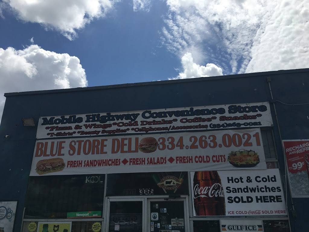 Blue Store Deli | meal takeaway | 3065 Mobile Hwy, Montgomery, AL 36108, USA | 3342630021 OR +1 334-263-0021