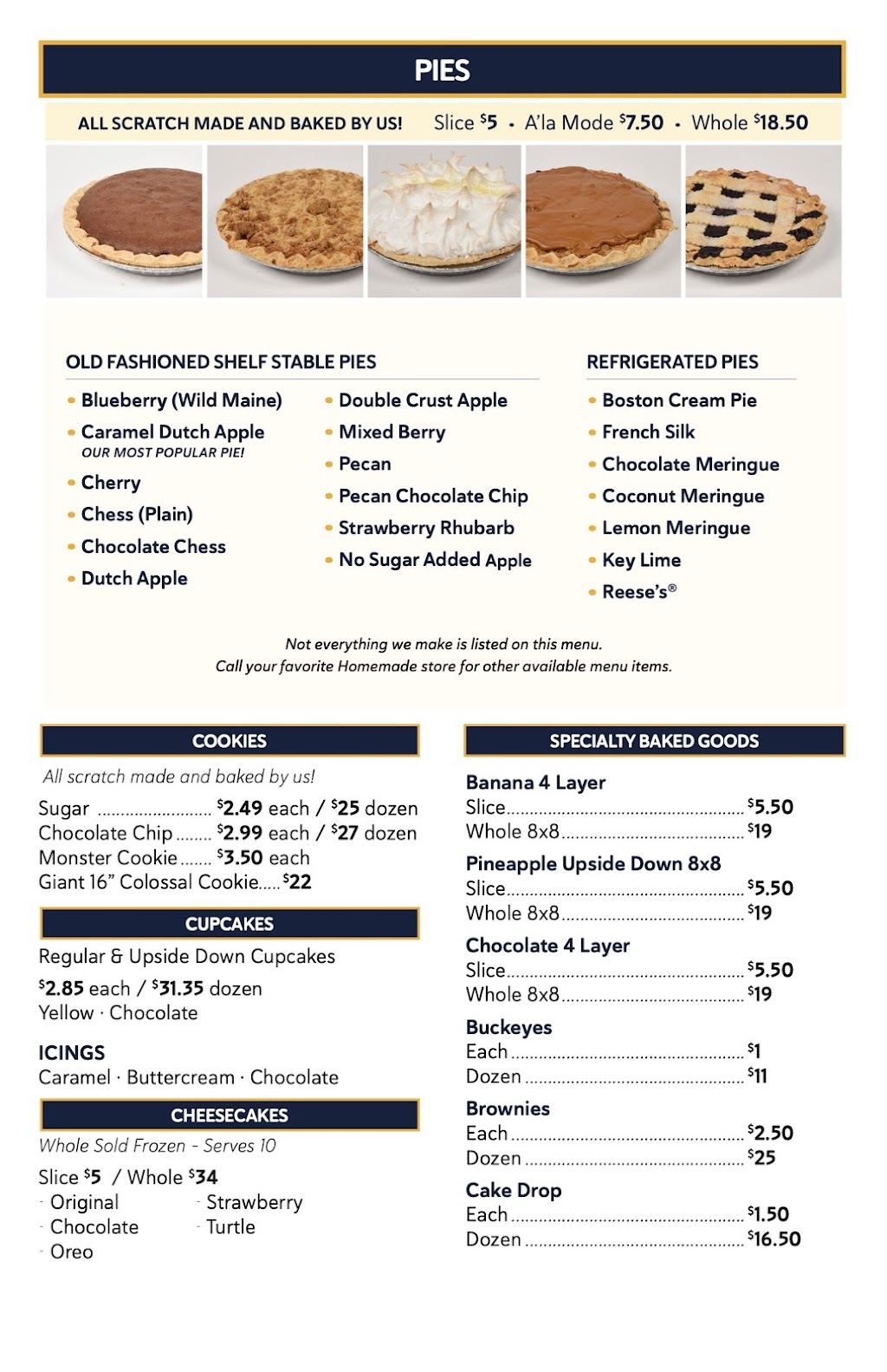 Homemade Ice Cream & Bakery Café   restaurant   10875 N Michigan Rd, Zionsville, IN 46077, USA   3172109496 OR +1 317-210-9496