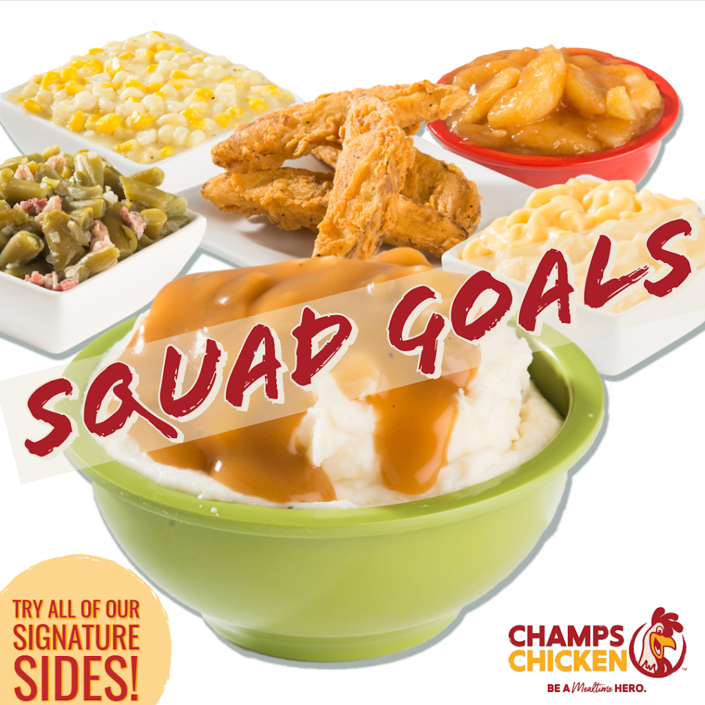 Champs Chicken | restaurant | 13489 IH 35 S, Moore, TX 78057, USA | 2109605540 OR +1 210-960-5540