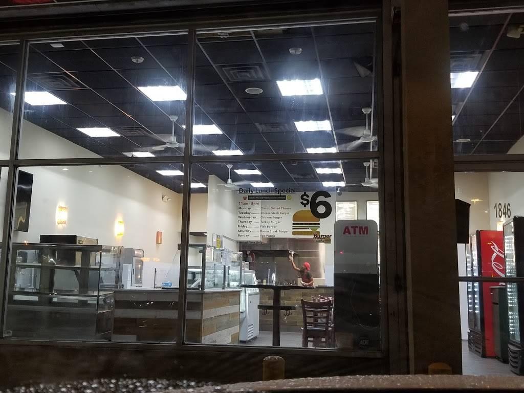 Burger Urway Express | restaurant | 1846 E New York Ave, Brooklyn, NY 11207, USA | 3476632315 OR +1 347-663-2315