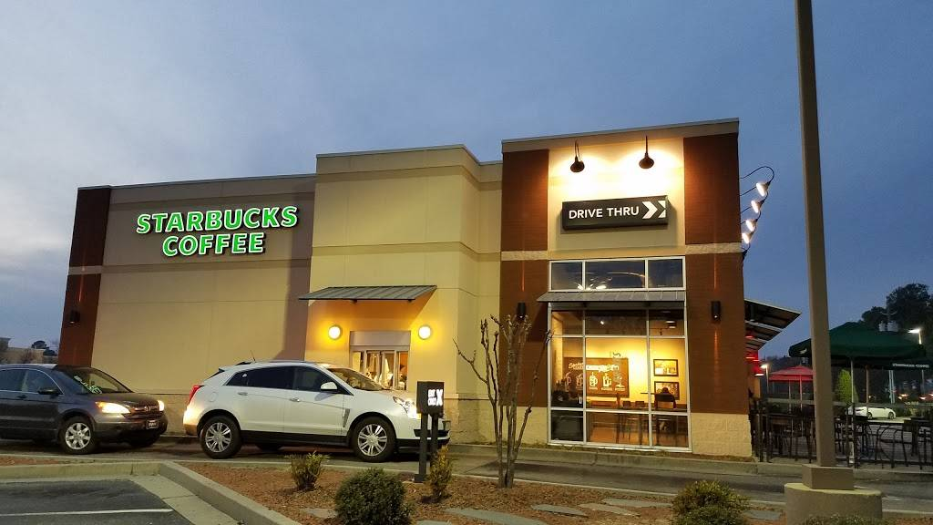 Starbucks | cafe | 1445 Walter Reed Rd, Fayetteville, NC 28304, USA | 9104851084 OR +1 910-485-1084