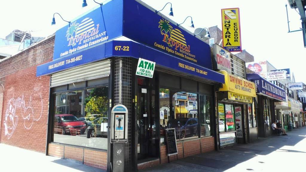 Tropical | restaurant | 67-22 Roosevelt Ave, Woodside, NY 11377, USA | 7182056027 OR +1 718-205-6027