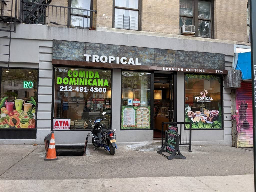 Tropical   restaurant   3771 Broadway, New York, NY 10032, USA   2124914300 OR +1 212-491-4300