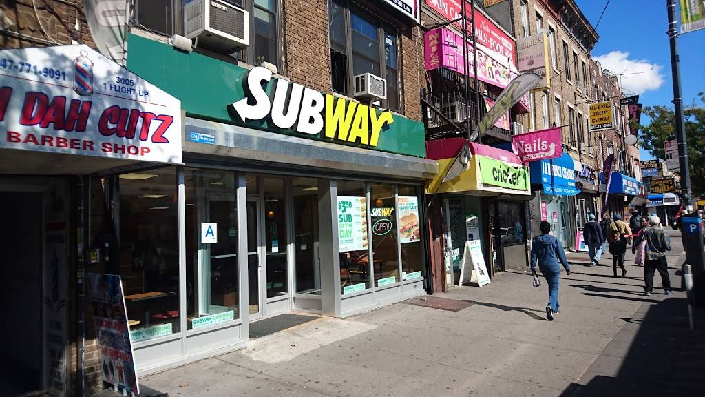 Subway   meal takeaway   3105 Church Ave, Brooklyn, NY 11226, USA   7182822495 OR +1 718-282-2495