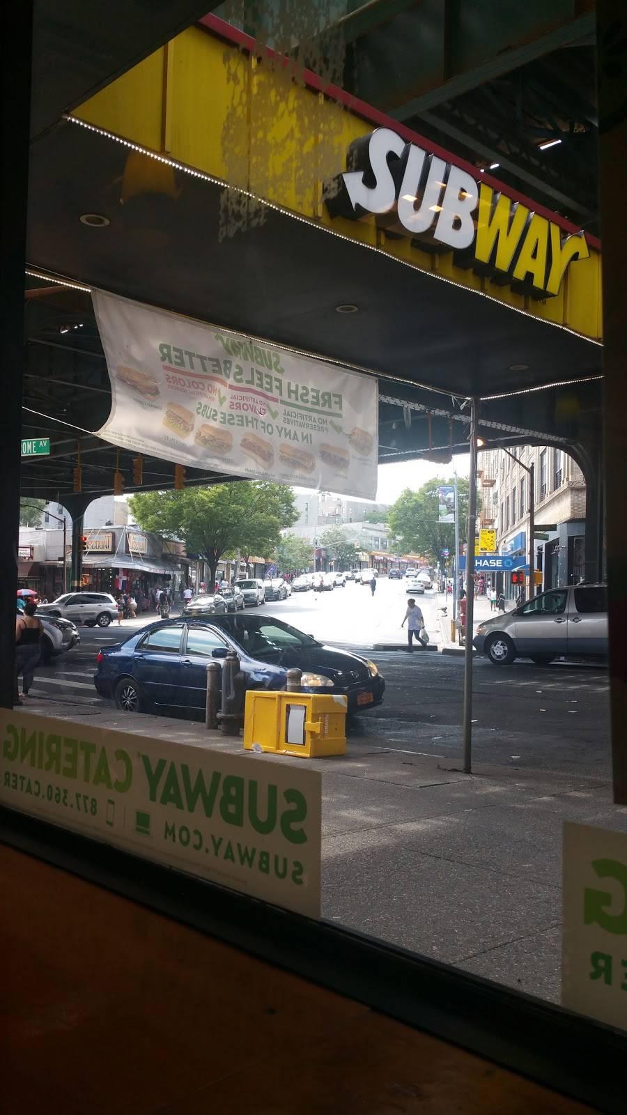 Subway Restaurants | restaurant | 2052 Jerome Ave, Bronx, NY 10453, USA | 7182206319 OR +1 718-220-6319