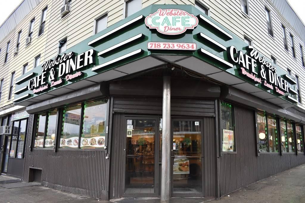 Webster Cafe & Diner | meal delivery | 2873 Webster Ave, Bronx, NY 10458, USA | 7187339634 OR +1 718-733-9634