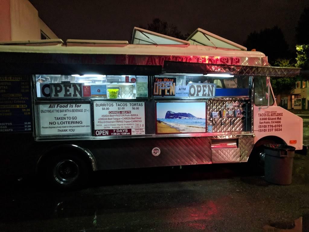 Tacos El Autlense | restaurant | 601 San Pablo Ave #2, Albany, CA 94706, USA | 5107760701 OR +1 510-776-0701