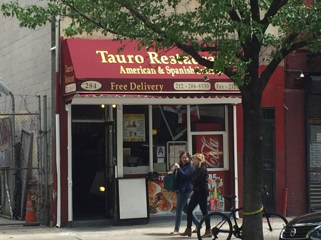 Tauro | restaurant | 284 Hudson St, New York, NY 10013, USA | 2122068530 OR +1 212-206-8530
