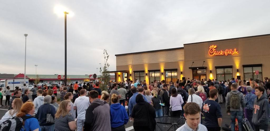 Chick-fil-A | restaurant | 2301 N Prospect Ave, Champaign, IL 61822, USA | 2173513094 OR +1 217-351-3094
