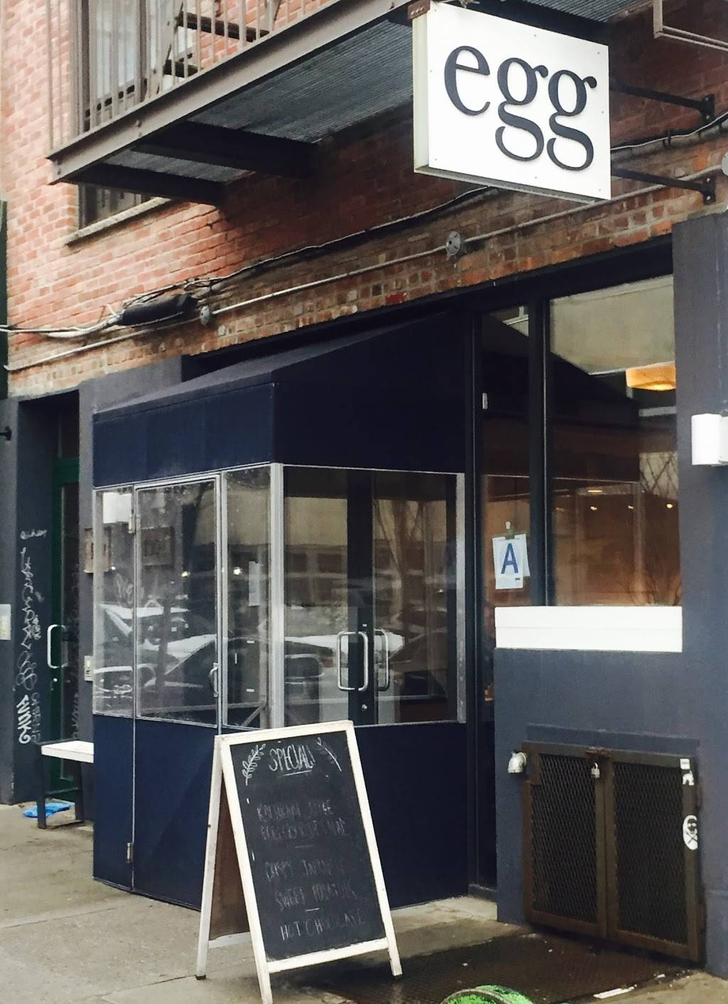 Egg | restaurant | 109 N 3rd St, Brooklyn, NY 11249, USA | 7183025151 OR +1 718-302-5151