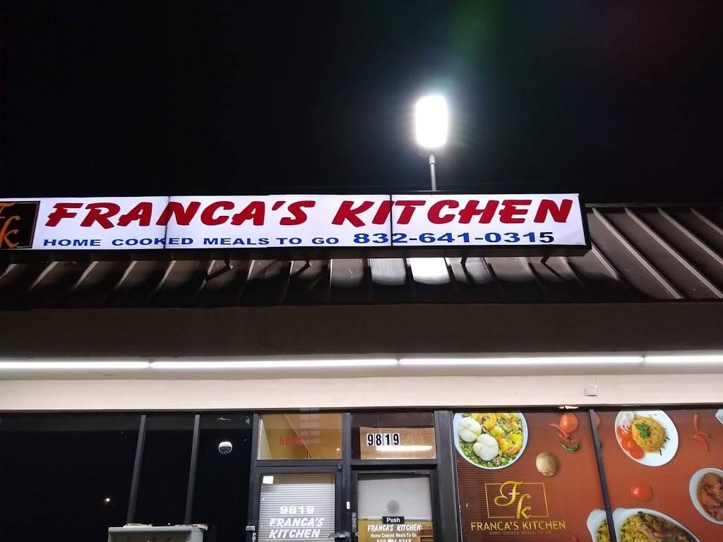 Francas Kitchen | restaurant | 9819 S Kirkwood Rd, Houston, TX 77099, USA | 8326410315 OR +1 832-641-0315