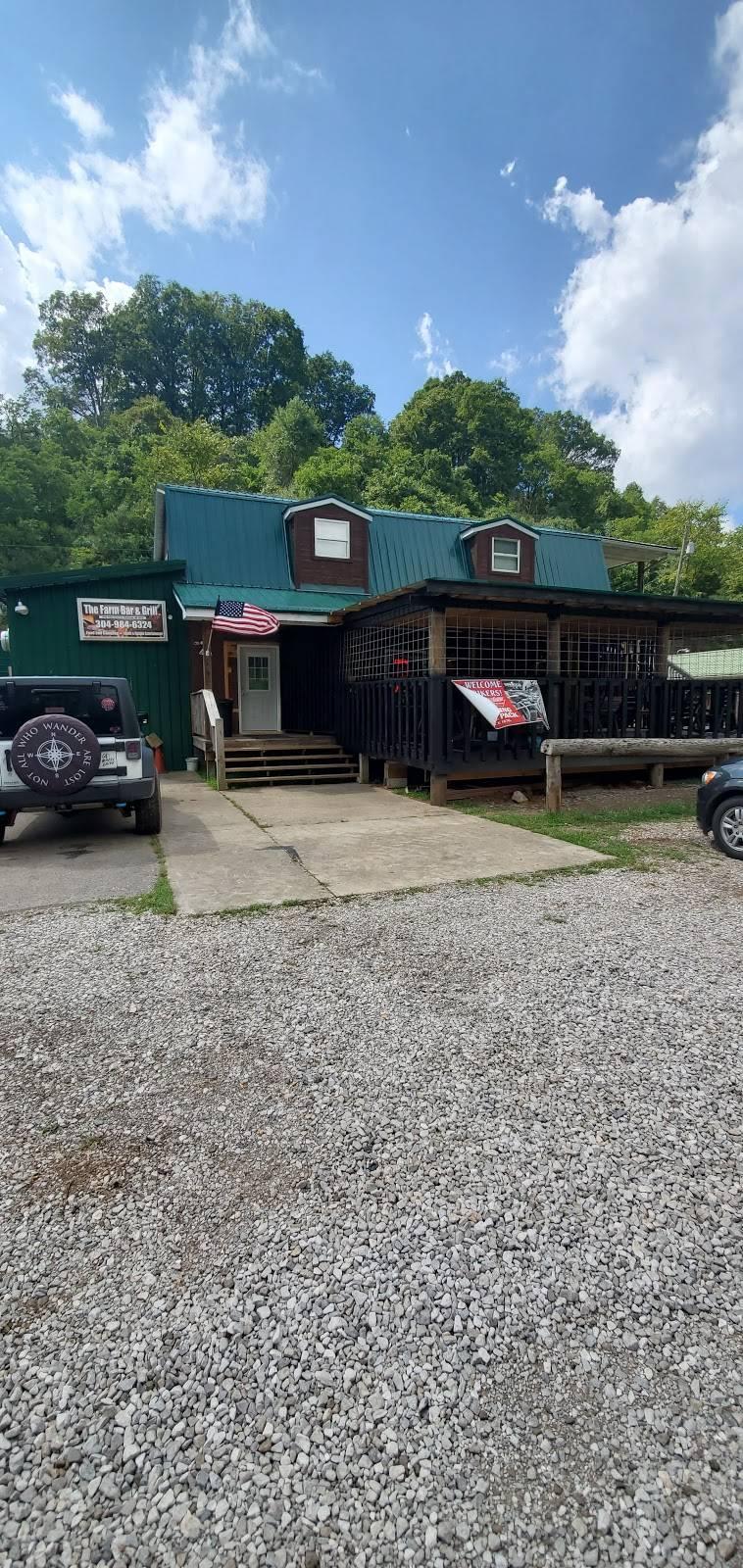 The Farm Bar & Grill   restaurant   5769 Kellys Creek Rd, Charleston, WV 25312, USA   3049846324 OR +1 304-984-6324