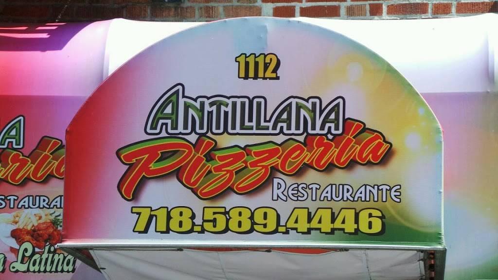 Antillana Pizzeria   restaurant   1112 Westchester Ave, Bronx, NY 10459, USA   7185894446 OR +1 718-589-4446