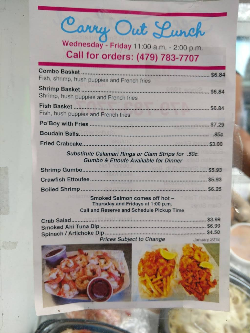 Sees Seafood | meal takeaway | 1229 Towson Ave, Fort Smith, AR 72901, USA | 4797837707 OR +1 479-783-7707