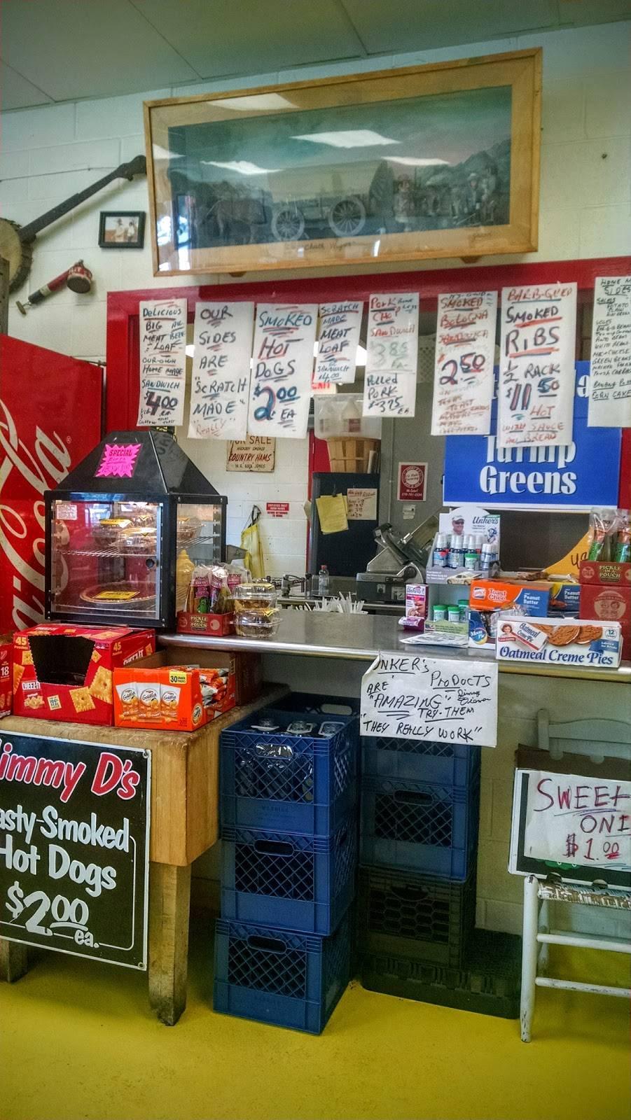 Jimmy D S Bar B Que Self Stor Restaurant 5449 Scottsville Rd B Bowling Green Ky 42104 Usa