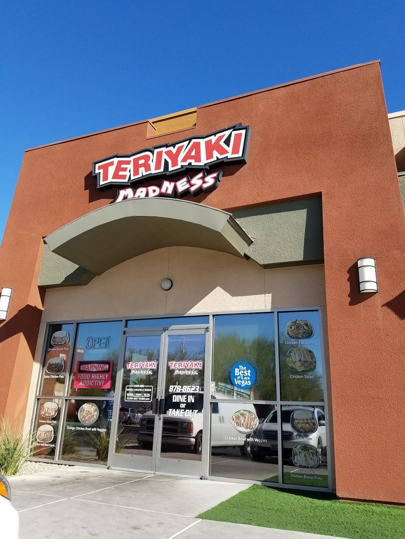 Teriyaki Madness   restaurant   8520 W Warm Springs Rd #102, Las Vegas, NV 89148, USA   7028788623 OR +1 702-878-8623