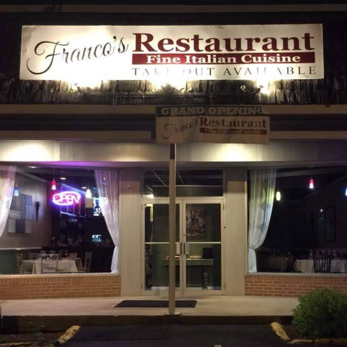Francos of Brookfield | restaurant | 483 Federal Rd #10, Brookfield, CT 06804, USA | 2038850357 OR +1 203-885-0357