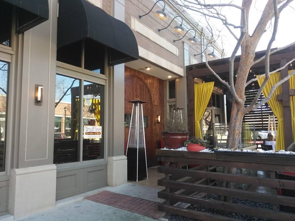 Trufire Kitchen Bar Restaurant 1239 Main Street Southlake Tx 76092 Usa