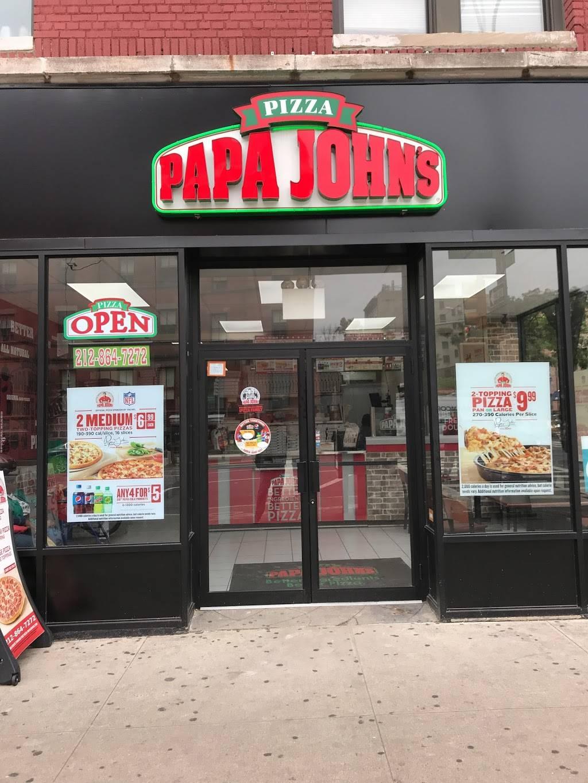 Papa Johns Pizza | restaurant | 896 Amsterdam Ave, New York, NY 10025, USA | 2128647272 OR +1 212-864-7272