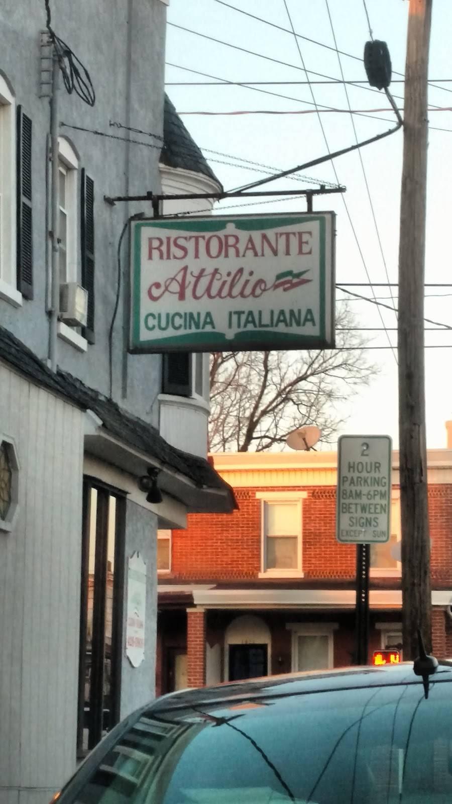 Ristorante Attilio | restaurant | 1900 Lancaster Ave, Wilmington, DE 19805, USA | 3024280909 OR +1 302-428-0909