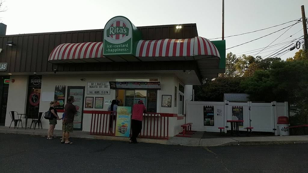 Ritas Italian Ice & Frozen Custard | restaurant | 191-2 Hackensack St, Wood-Ridge, NJ 07075, USA | 2017284033 OR +1 201-728-4033