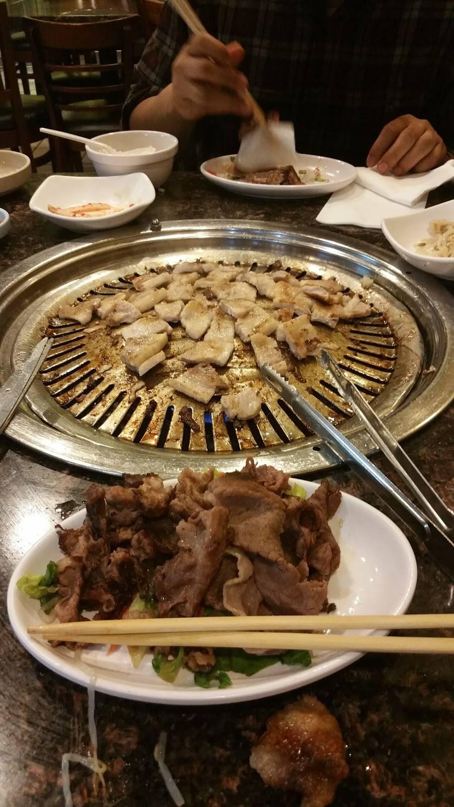 Sanya Korean BBQ   restaurant   2897 W Olympic Blvd #105, Los Angeles, CA 90006, USA   2133831144 OR +1 213-383-1144