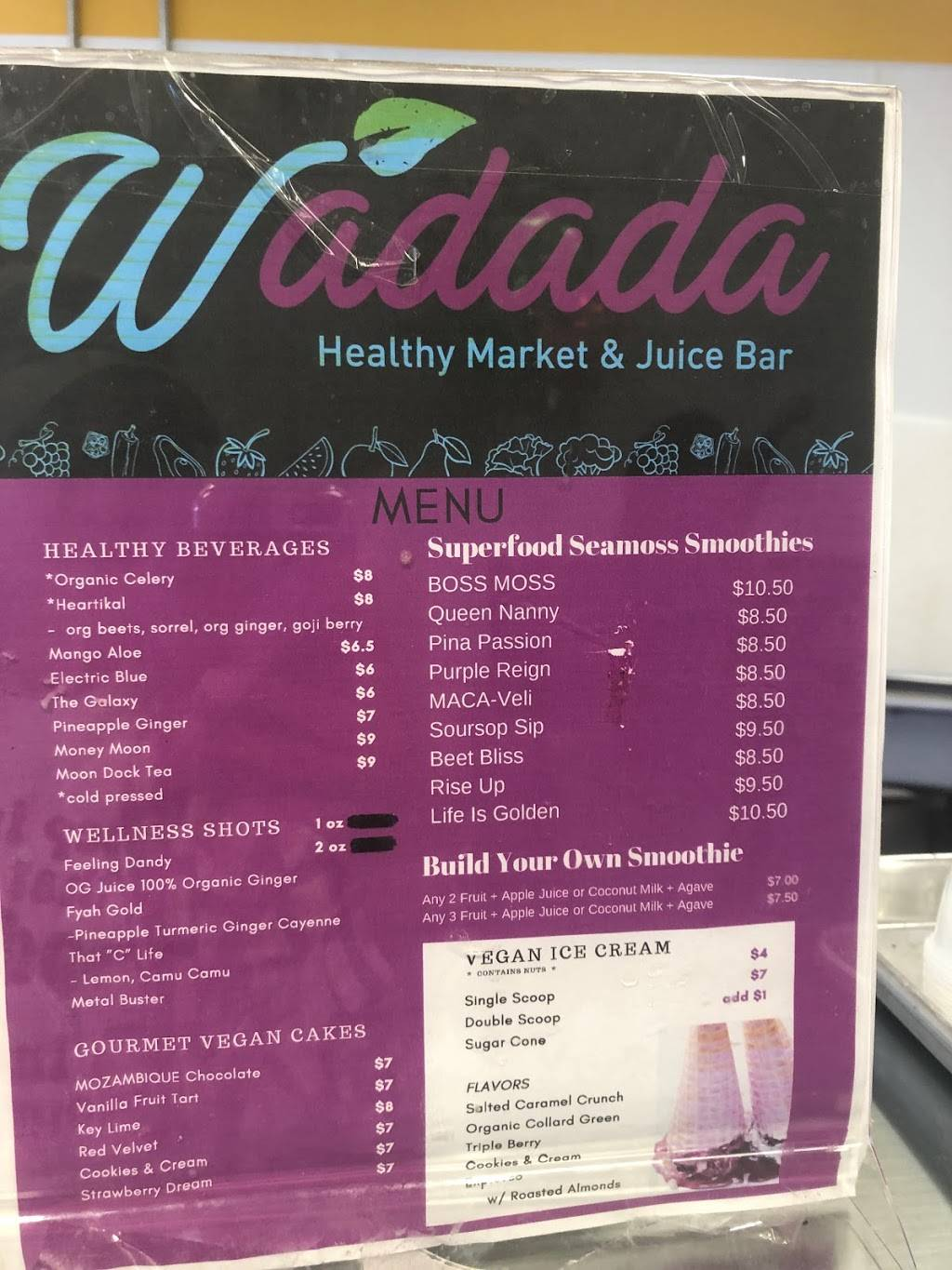 Wadada Healthy Market & Juice Bar | restaurant | 878 Ralph David Abernathy Blvd SW, Atlanta, GA 30310, USA