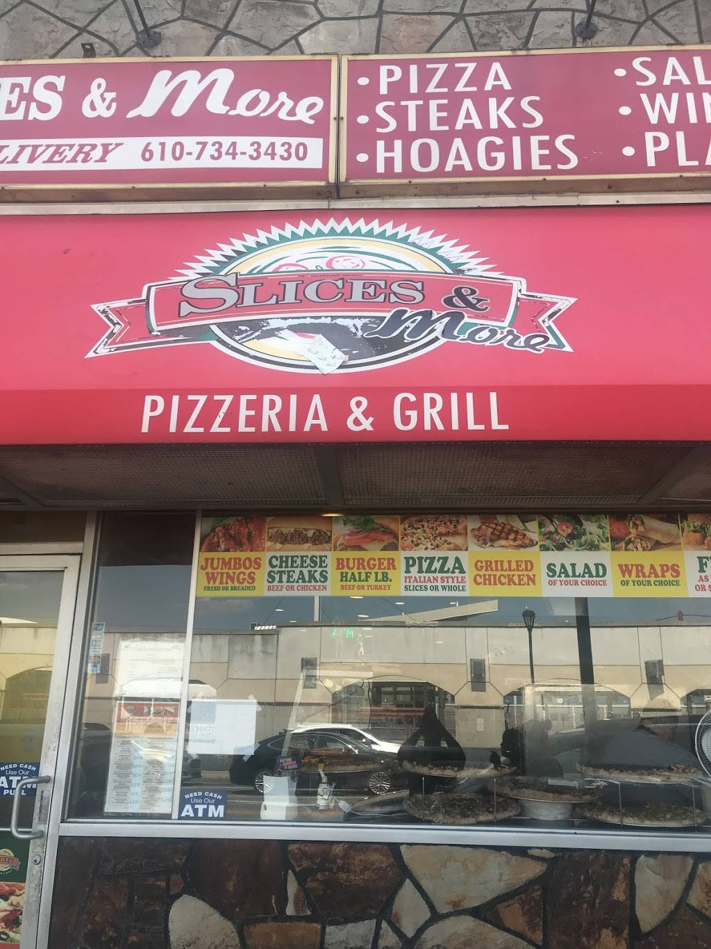 Slices & More | meal delivery | 6932 Market St, Upper Darby, PA 19082, USA | 6107343430 OR +1 610-734-3430