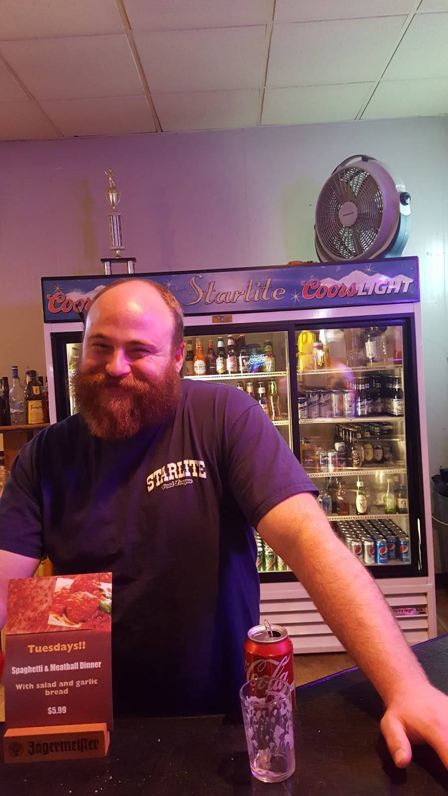Starlite Lounge & Restaurant | restaurant | 930 Market St, Mahaffey, PA 15757, USA | 8142776729 OR +1 814-277-6729