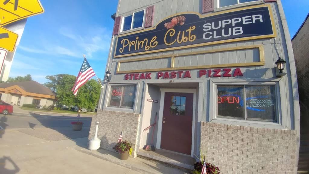 Prime Cut Supper Club | restaurant | 107 W Ormsby St, Oxford, WI 53952, USA | 6085864066 OR +1 608-586-4066