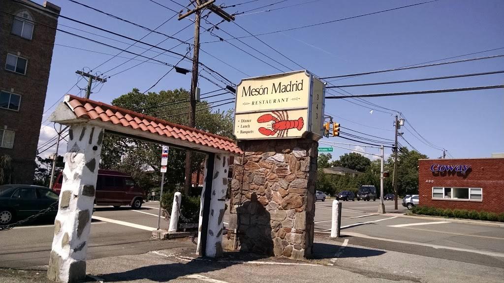 Meson Madrid | restaurant | 343 Bergen Blvd, Palisades Park, NJ 07650, USA | 2019471038 OR +1 201-947-1038